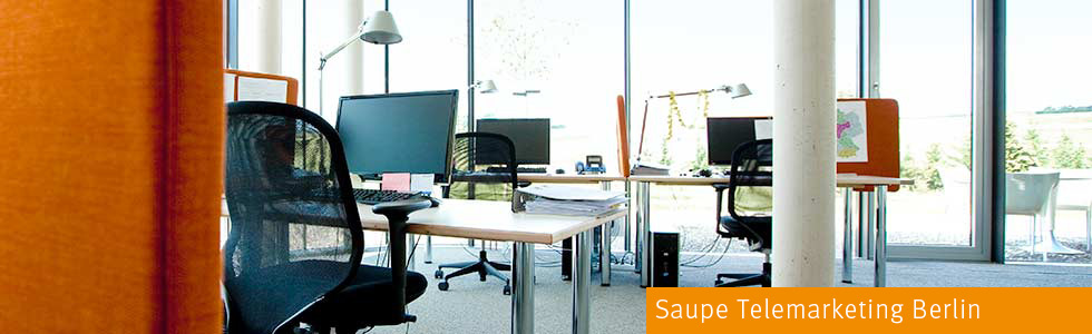 Saupe Telemarketing Berlin ist ein Competence Center